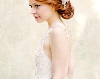 Hochzeit Kopfschmuck, Braut Kopfschmuck, floralen Kopfschmuck, Crystal Haarkamm - Stil 329