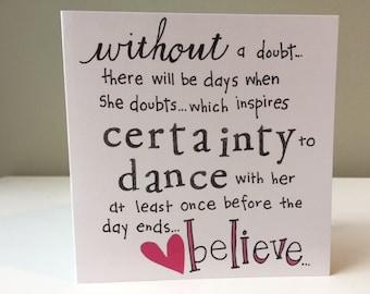 4.5 Card - Believe