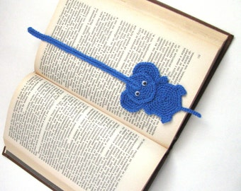 Free crochet pattern, Bookmark elephant crochet pattern