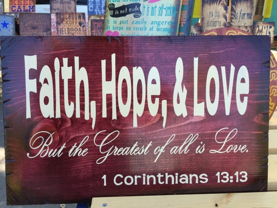 Faith, Hope, & Love