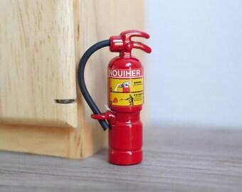 Dollhouse 1:12 Miniature Fire Extinguisher