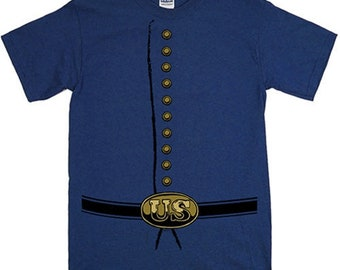 Civil War Union Uniform Tee Shirt (Version 1)