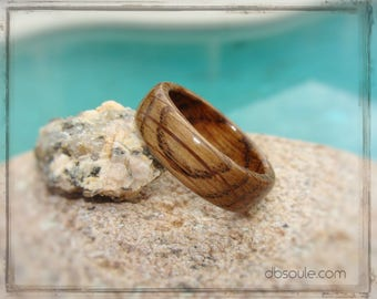 Whiskey Barrel Ring - Tennessee Whiskey Barrel Ring - Jack Daniels Ring - Whiskey Barrel Wood Ring - Wood Wedding Ring - Bourbon Barrel Ring