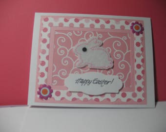 Sale - Bunny Happy Easter Card