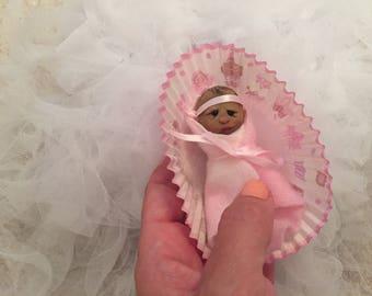 Cute Bundle Baby Girl,Dollhouse, Ooak , Worldwide shipping