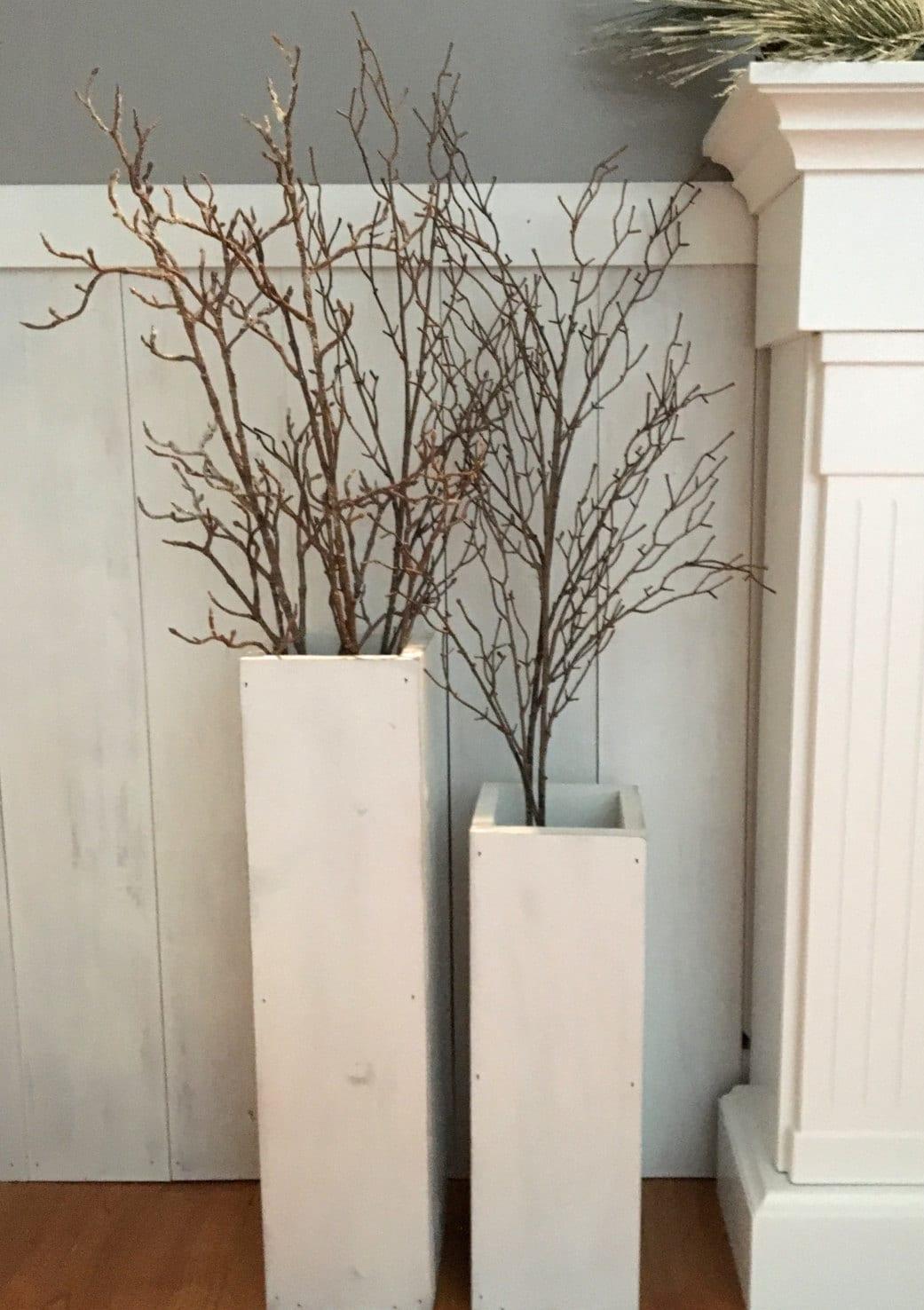 White wooden vases reclaimed wood distressed wood floor zoom reviewsmspy