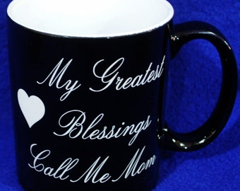 Birthday Gift For Mom ~ Mom Gifts ~ Gift For Grandma ~ Custom Coffee Mug ~ Birthday Gifts For Mom ~ Gift For New Mom ~ Coffee Mug For Mom ~