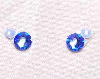 Blue & Blue Opal Eye Candies ATS Tribal Fusion Bindi - 00102