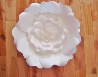 SAMPLE paper flower - Paper Flowers, Large Paper Flower, Paper Flower Sample, Paper Flower Wall, Paper Flower Backdrop