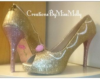 Customised Shoes/ Wedding Shoes/ Princess Shoes/ Disney Shoes