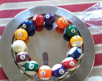 Vintage Billiard Balls