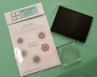"Quilt Stamp Kit 1"" set"