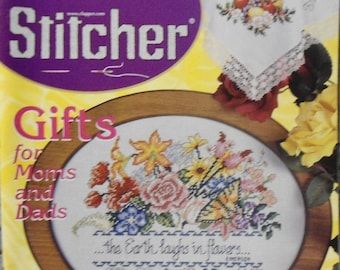 The Cross Stitcher April 2000  Magazine Volume 17 Number 1