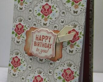 Victorian Birthday Reminder Book