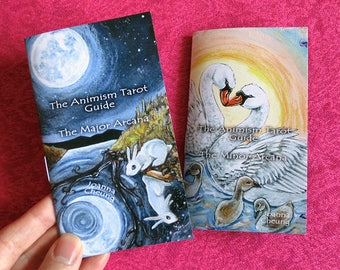 Animism Tarot Guide Booklets, Major Arcana, Minor Arcana, Tarot Card Meanings, Animal Totems, Spirit Animals, Gift for Tarot Readers