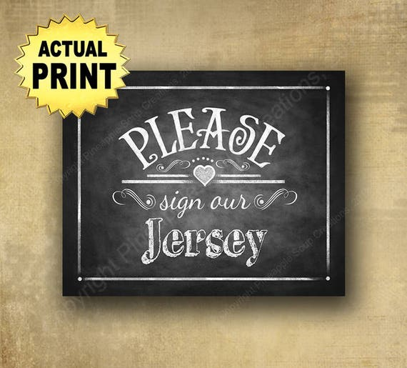 Sign our Jersey, Wedding Jersey Guestbook, hockey wedding, football wedding, rustic wedding sign, chalkboard wedding, barn wedding signage