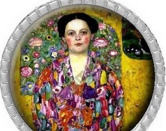 Pendant Cabochon - woman Klimt (300)