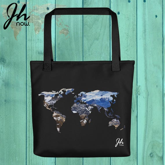Wanderlust tote bag world map tote bag tote bag travel tote like this item gumiabroncs Gallery