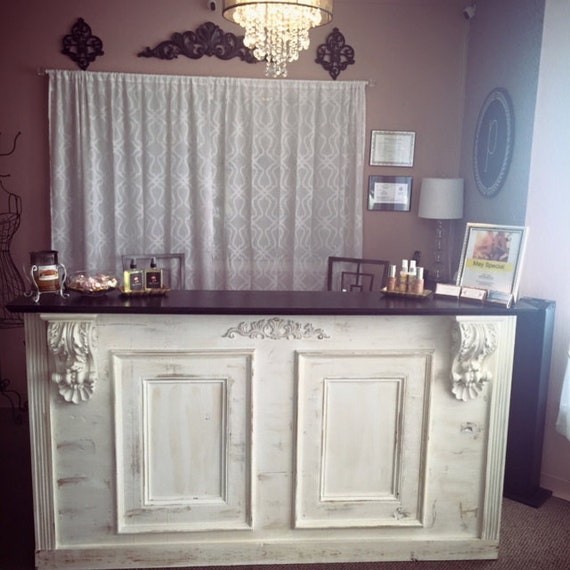 Tuscan/ French: Bar, Retail Counter / Reception Desk Kitchen Island - Tuscan/ French: Bar Retail Counter / Reception Desk Kitchen