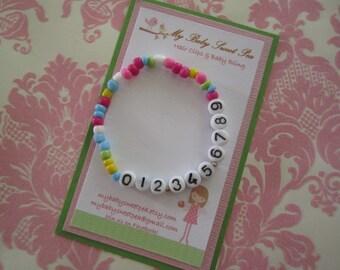 Children bracelet - just in case bracelet emergency bracelet