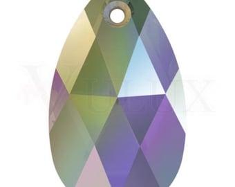 Swarovski 6106 Pear shaped - Crystal Paradise Shine (PARSH)-38 mm