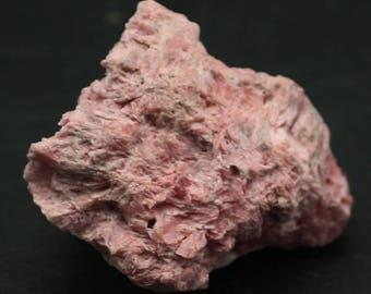 Pretty Pink Rhodonite Crystals, Peru  Mineral Specimen for Sale