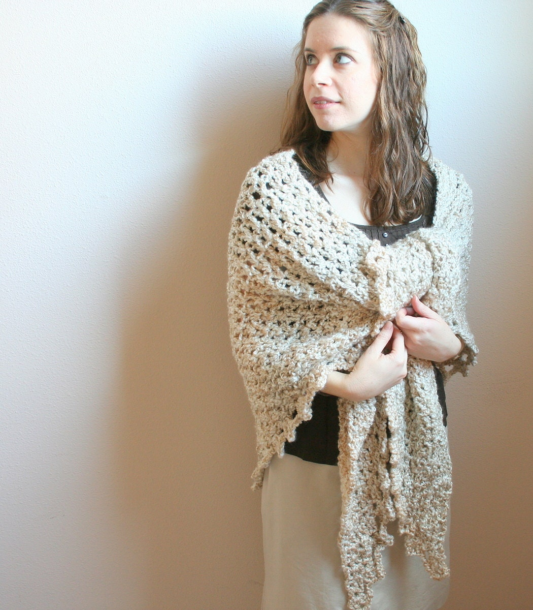 pdf digital pattern crochet shawl patterncrochet wrap