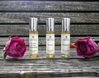 Lady Day Perfume Oil - Peach, Gardenia, Opium, Sandalwood