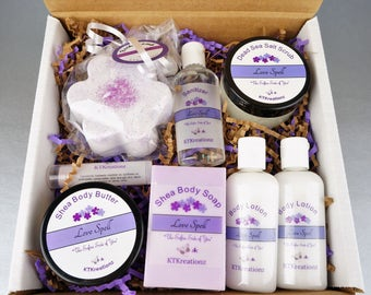 Spa Gift Set. Bridal Shower Gift. Mother's day gift. Birthday Gift for her. Christmas Gift