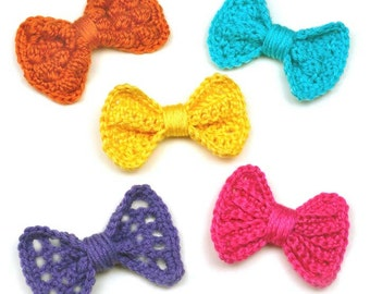 Variety Bow Set - PDF Crochet Pattern - Instant Download