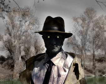 Nick Valentine Trench Coat - Fallout 4 Cosplay