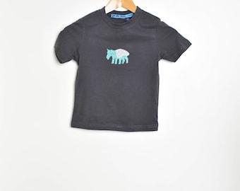 tapir glitter t shirt