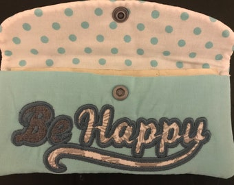 Be Happy money pouch