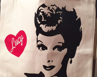 I Love Lucy Tote
