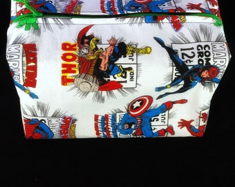 Marvel Comics boxed zipper pouch