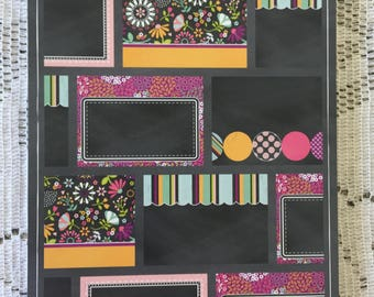 Chalk it Up Card Pad 20 Pre-Scored Cards by Hazel & Ruby