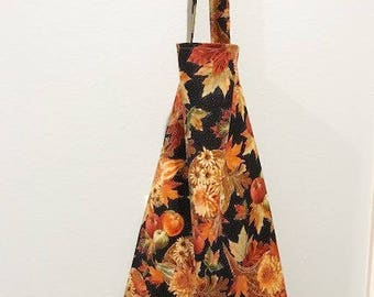 Thanksgiving Fall Apron | Harvest fabric | Kitchen Apron Ready to Ship