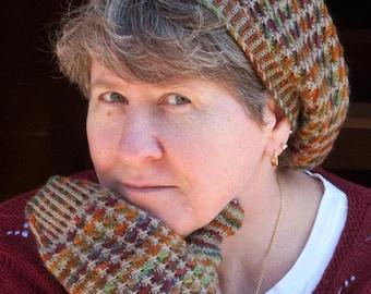 Star Tweed Mittens Knitting Pattern - PDF