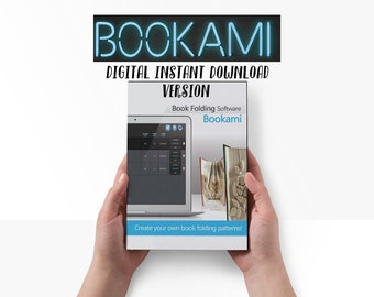 Origami, Bookami, Book Folding Software, Book Folding Patterns, Create Your Own Book Folding Patterns! Create, Cut and Fold, Patterns, Books