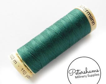 Gutermann Sew-All Polyester Thread Spool 100m (110 yards) - Teal #223