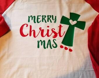 Long sleeve merry Christ mas