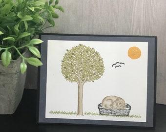 Pet Loss/Pet Sympathy Handmade Card