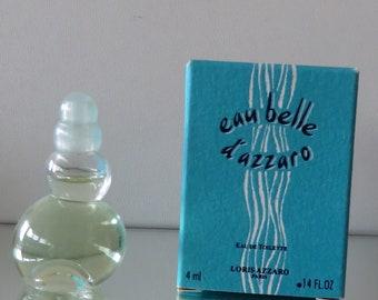 Eau Belle d'Azzaro by Loris Azzaro   - FULL - Miniature perfume bottle - Eau de Toilette Parfum-