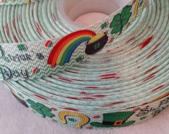 Pot of gold Ribbon | Bow Making Ribbon | Bow Making Ribbon | Bow Supplies | Grosgrain Ribbon | Grosgrain Bow Making Ribbon |