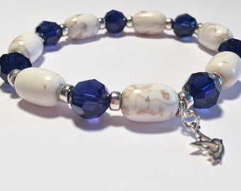 Peace & Harmony Silver Therapeutic Sacred Energy Infused Swarovski Crystal Healing Bracelet by Crystal Vibrations Jewelry