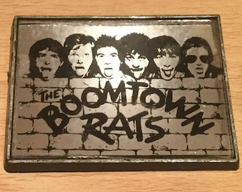 Vintage Boomtown Rats 1970's Mirror Badge Christmas Stocking Filler