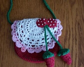 Custom crochet kids handbag