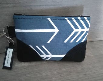 Small Zipper Pouch, Cosmetic Pouch, Zipper Pouch, Fabric Handbag, Women's Bag, Zipper Clutch, Make - up Bag, Purse Organizer
