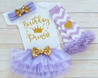 Birthday Princess Outfit, Baby Girl Birthday, 1st Birthday Girl Bodysuit, Birthday Outfit Girl, Baby Girl Birthday Announcement, Baby Shirt