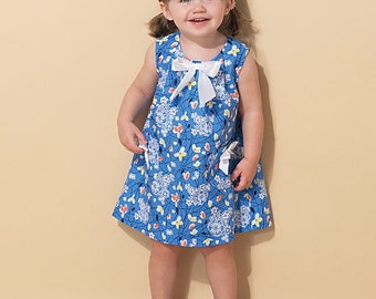 McCall's Sewing Pattern M7308 Toddlers' Tent Dresses